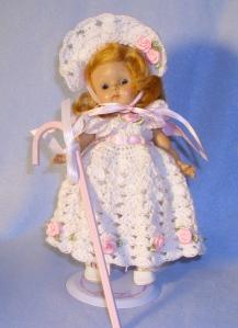 ginny little bo peep dress white